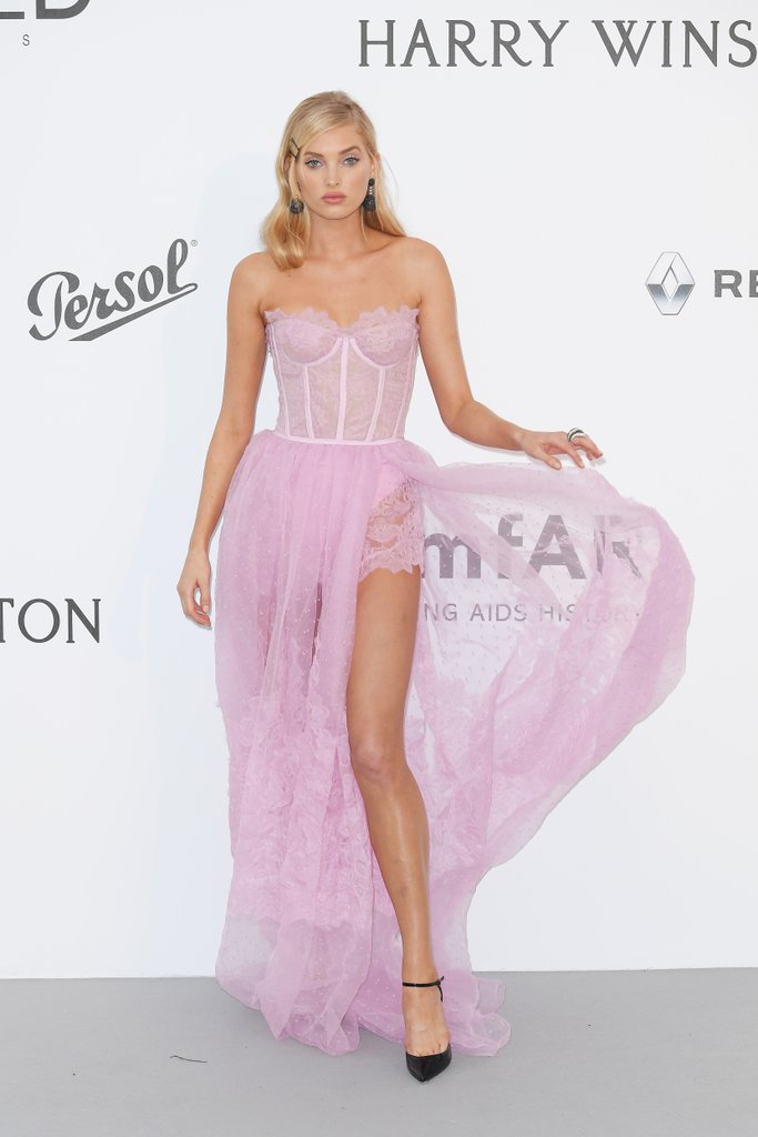 Elsa Hosk at the amfAR Gala, Cannes 2017.