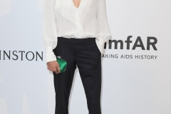 Aymeline Valade at the amfAR Gala, Cannes 2017.